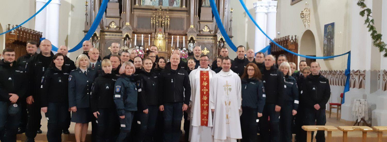 Angelų Sargų diena – policijos diena.