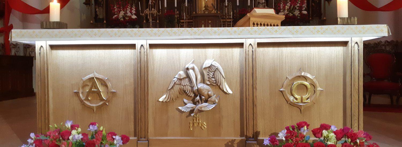 Šv. Mato atlaidai. Naujo altoriaus šventinimas.